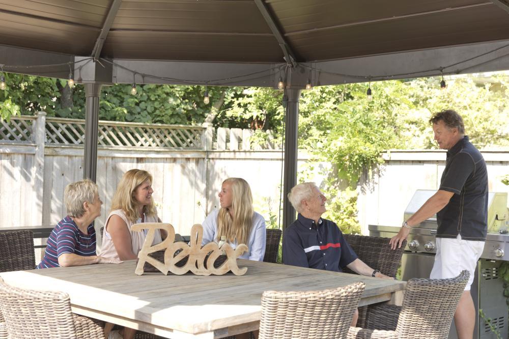 Enjoy the patio at SevenOaks