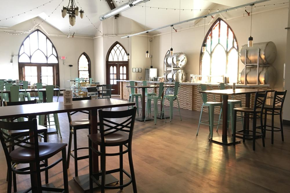 Taproom Now Open at Topsy Turvy Brewery