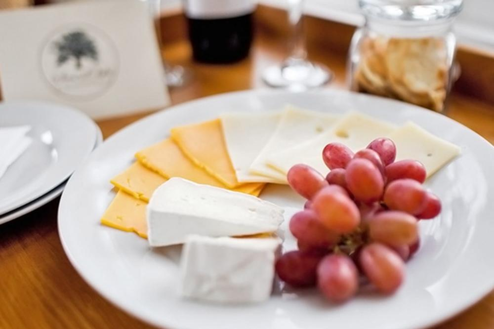 Wine & Cheese Plate