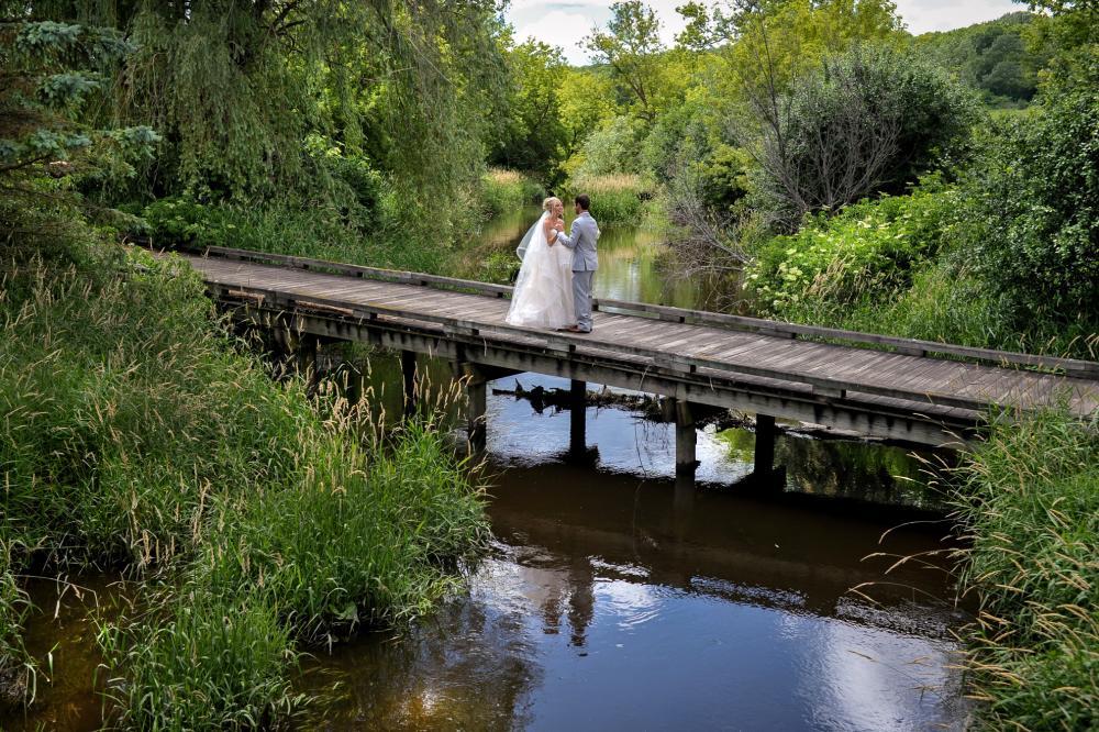 Wedding bridge