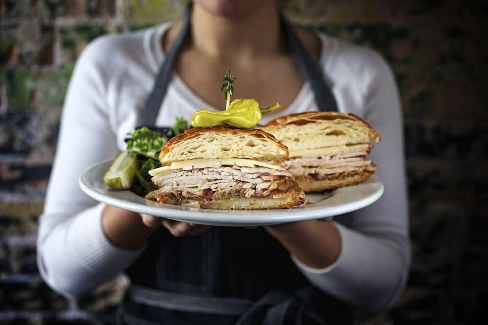 Turkey Sweet Sandwich at Waltons Fancy and Staple in austin texas