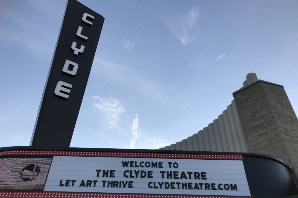 The Clyde marquee