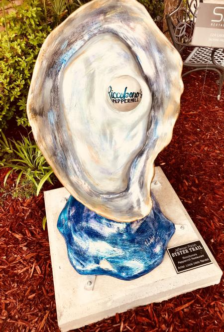 Riccobono's Oyster Sculpture