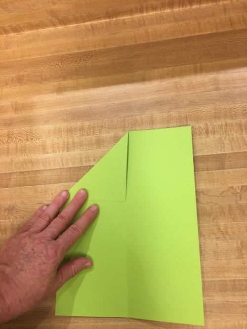 Paper Airplane Step 3a