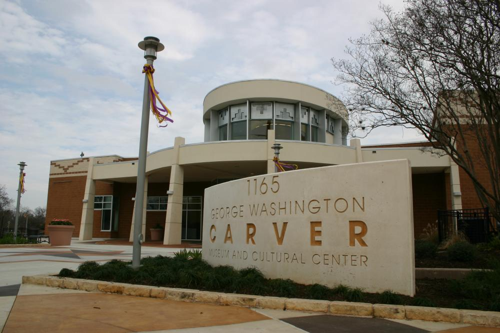 George Washington Carver Museum -Exterior