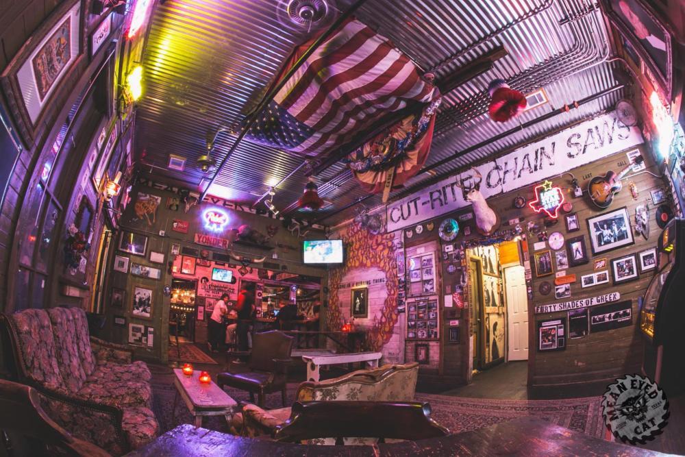 Mean Eyed Cat bar interior