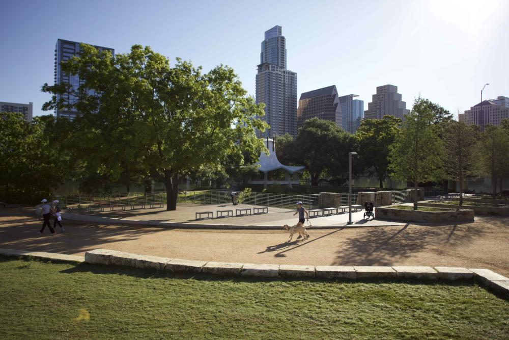 Auditorium Shores at the Hike and Bike Trail