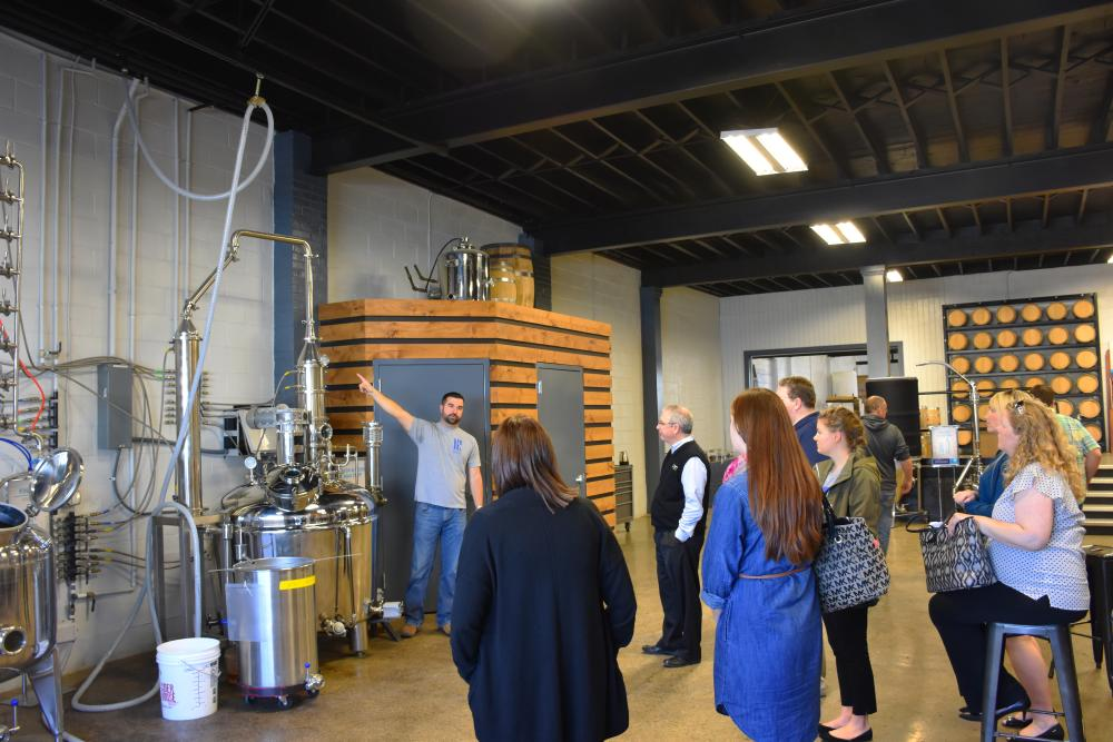 Three Rivers Distilling Company - Tour
