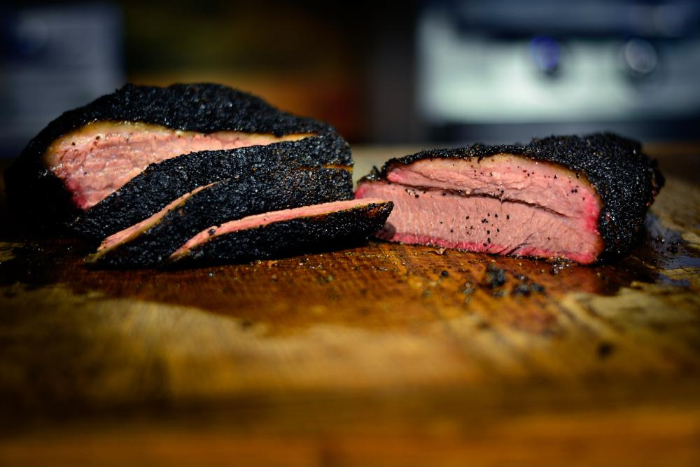 Brisket from Terry Blacks Barbecue.