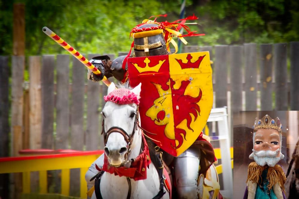 Renaissance Festival King Friday