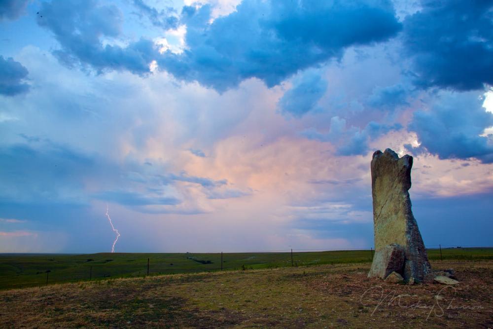 Teter Rock - Lightening