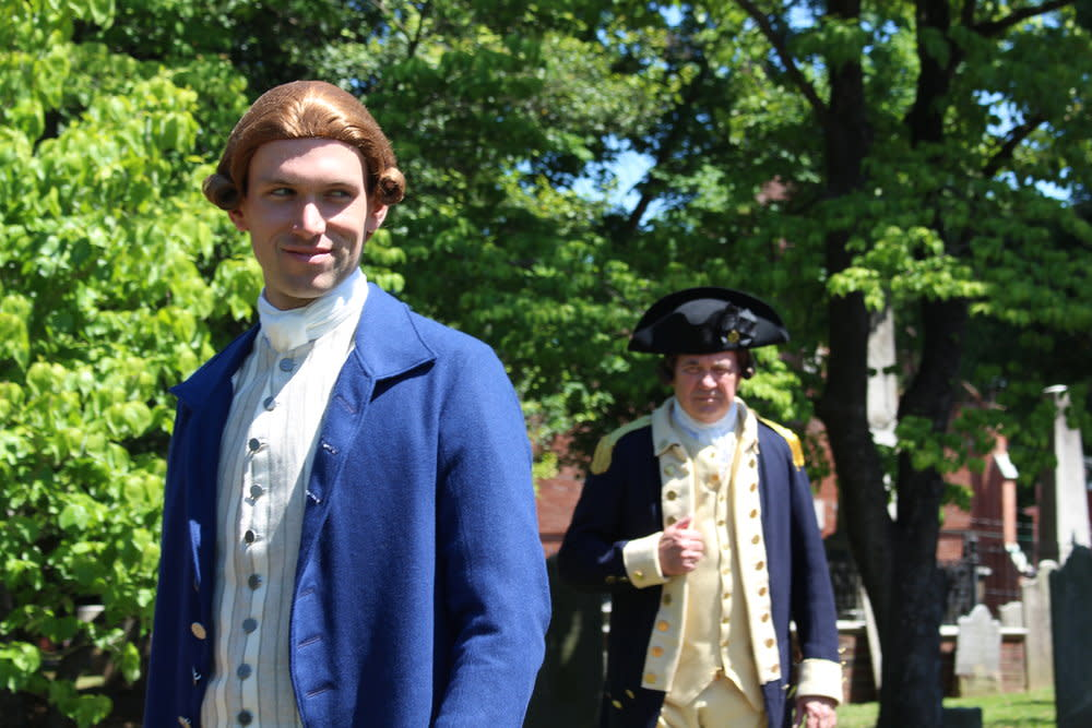 Patrick Henry reenactment at St. John's Church