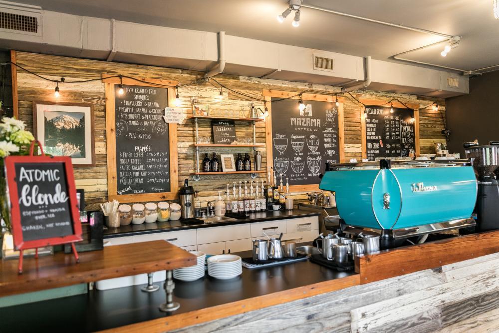 Mazama Coffee in Dripping Springs near Austin Texas