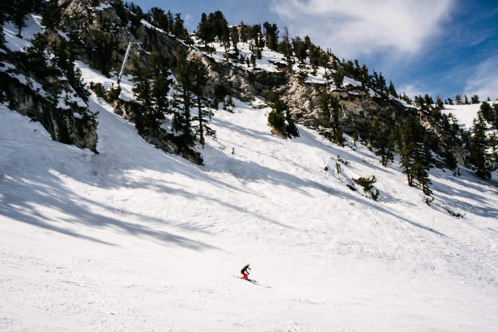 Skier at Solitude Mountain Resort