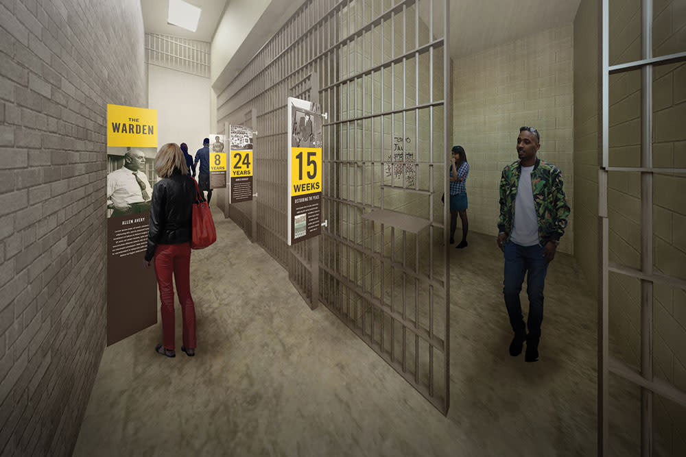 Workhouse Prison Museum rendering