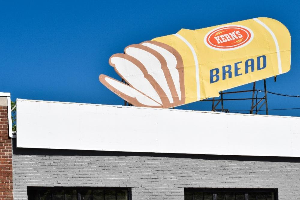 Kern's Bread Sign