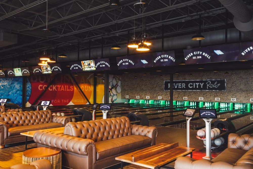 River City Roll boutique bowling alley