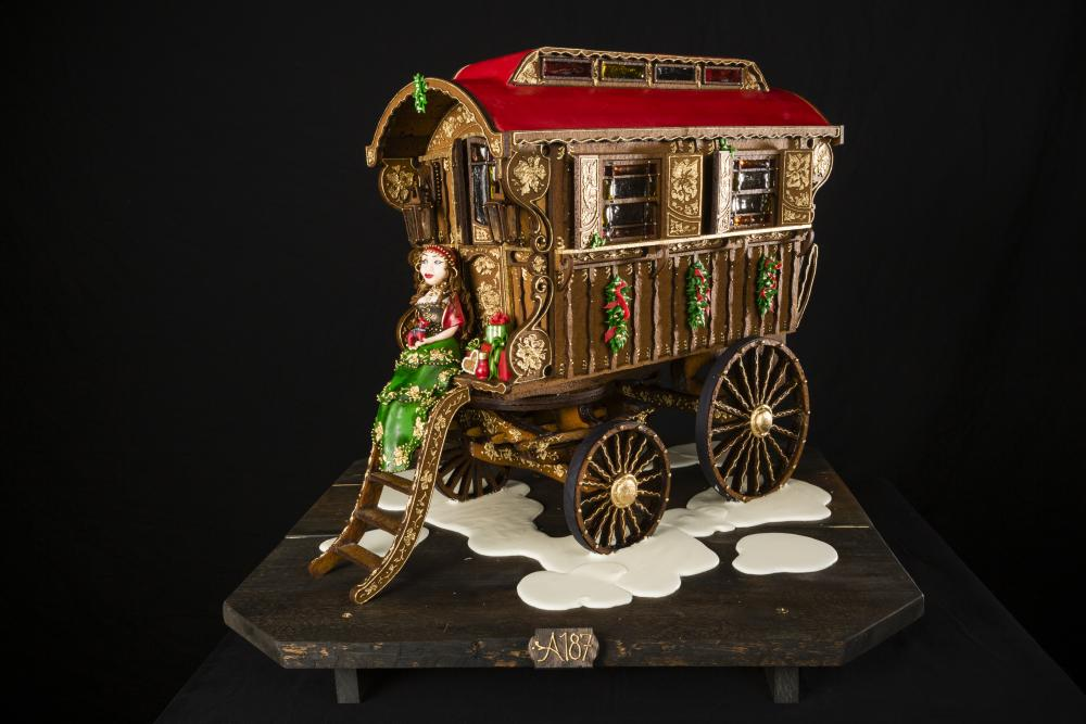 2019 National Gingerbread House Competition Adult Third Place