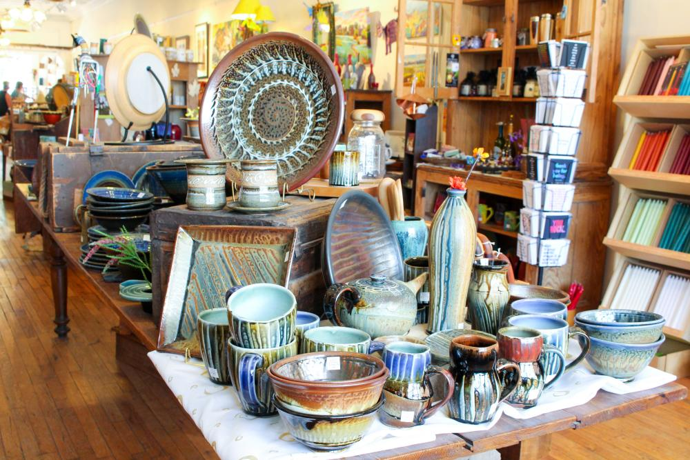 Seven Sisters Craft Gallery in Black Mountain, NC