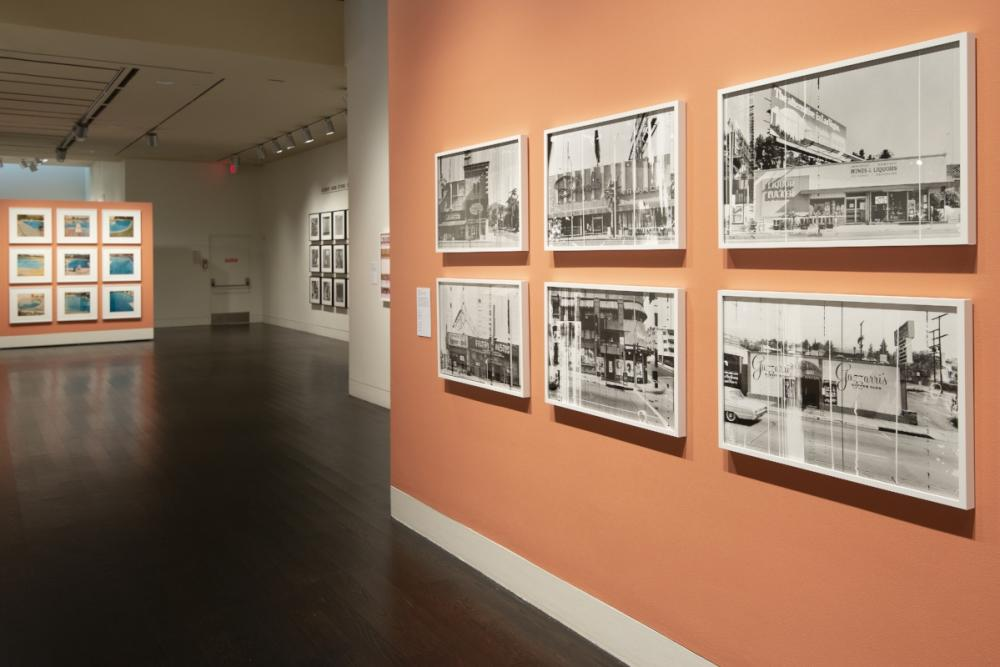 Ed Ruscha photography exhibition at the Harry Ransom Center.