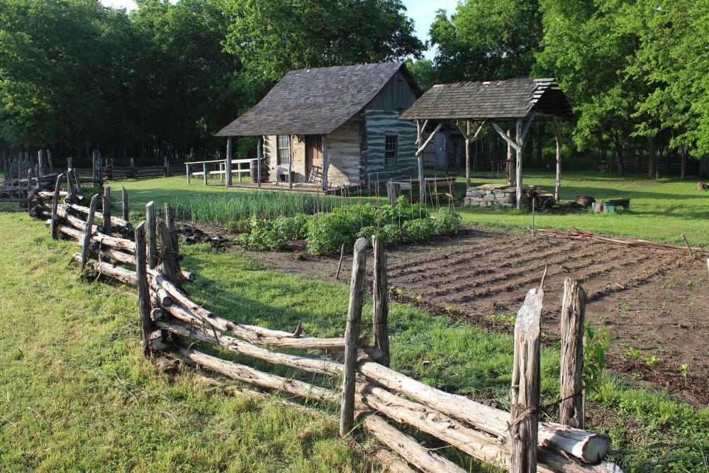 1868 German Emigrant Farm at Pioneer Farms in Austin Texas