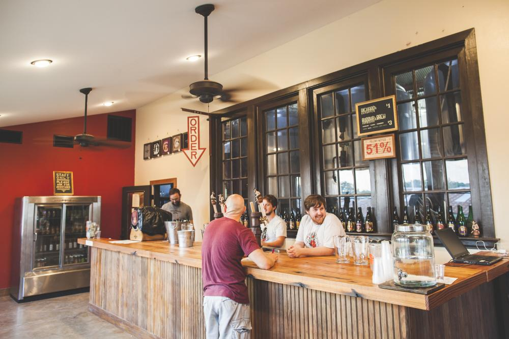 Jester King Brewery interior