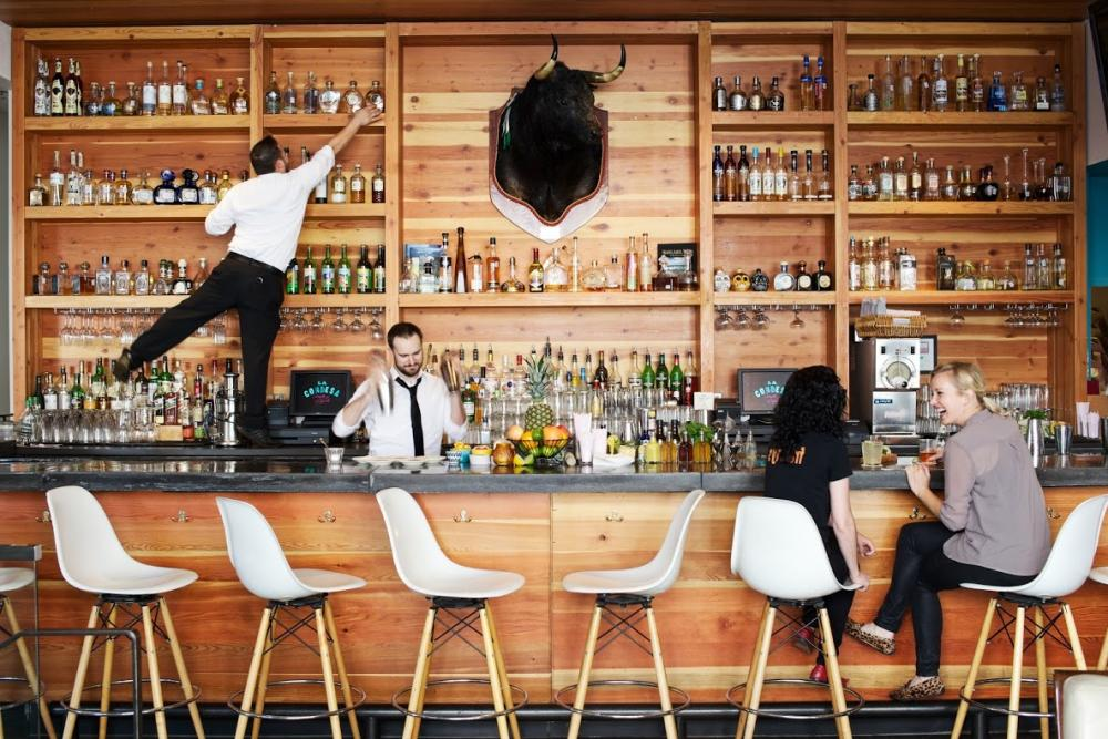 Bar tenders shake it up at La Condesa