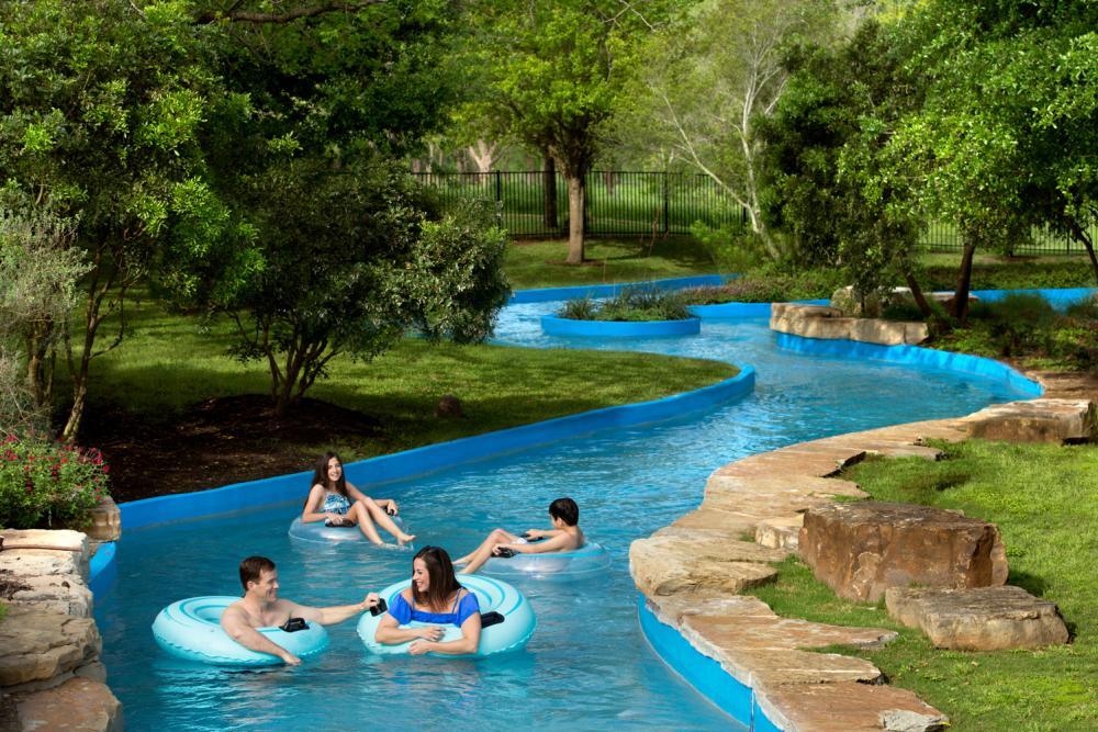 Lazy River at Hyatt Regency Lost Pines Resort and Spa near Austin Texas