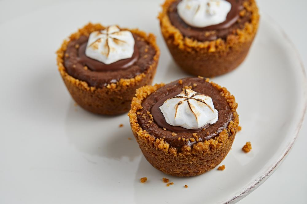 Pumpkin Chocolate pies from Tiny Pies in austin texas
