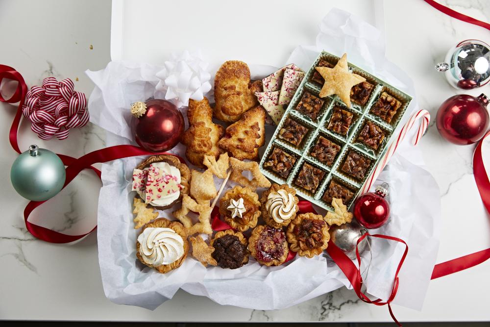 Holiday gift set from Tiny Pies in Austin Texas