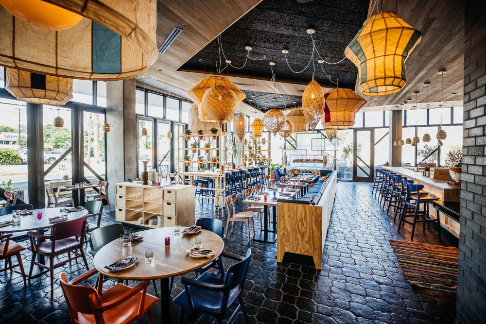Vixens Wedding restaurant at Arrive East Austin hotel in austin texas
