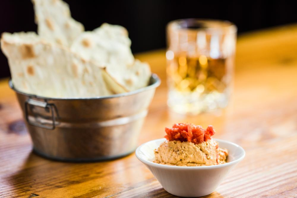 Creole Pimento Cheese at Bourbon