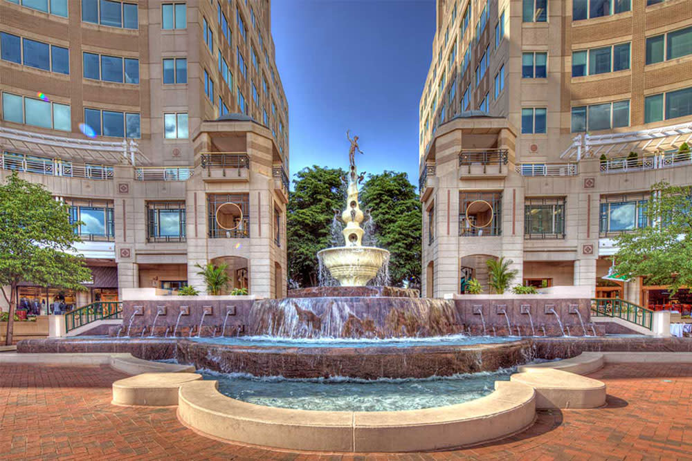 Reston Town Center Mercury Fountain