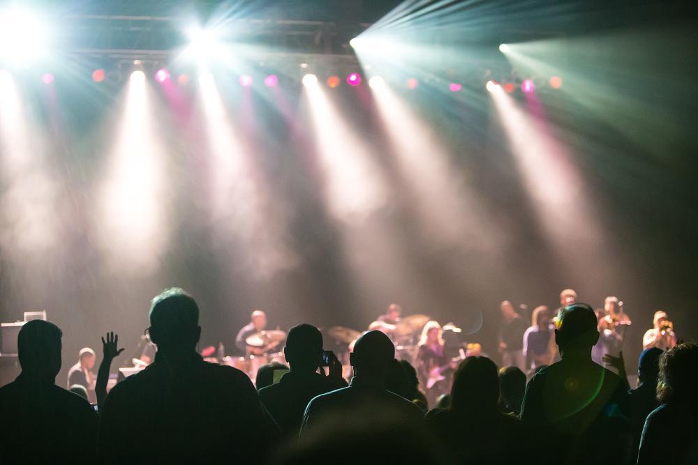 Concert in Fort Wayne, Indiana