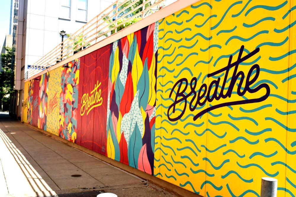 Breathe Mural