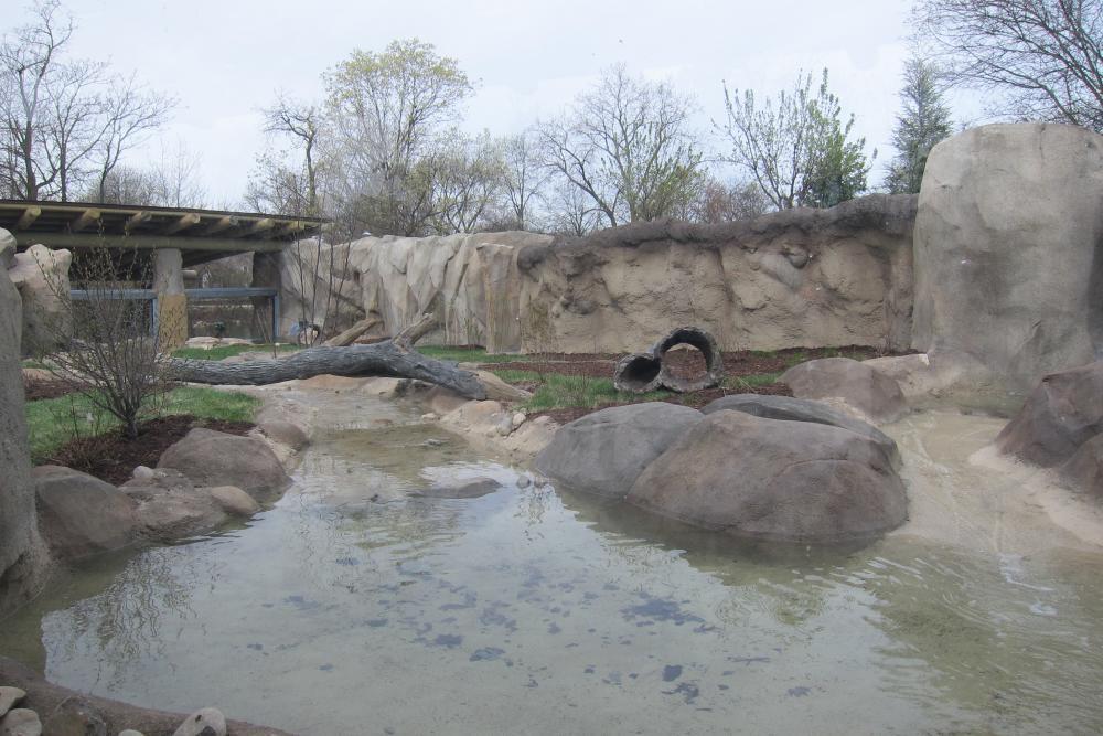 Fort Wayne Children's Zoo River Otter Exhibit