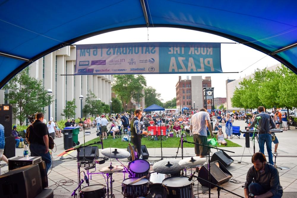 Rock the Plaza 2016