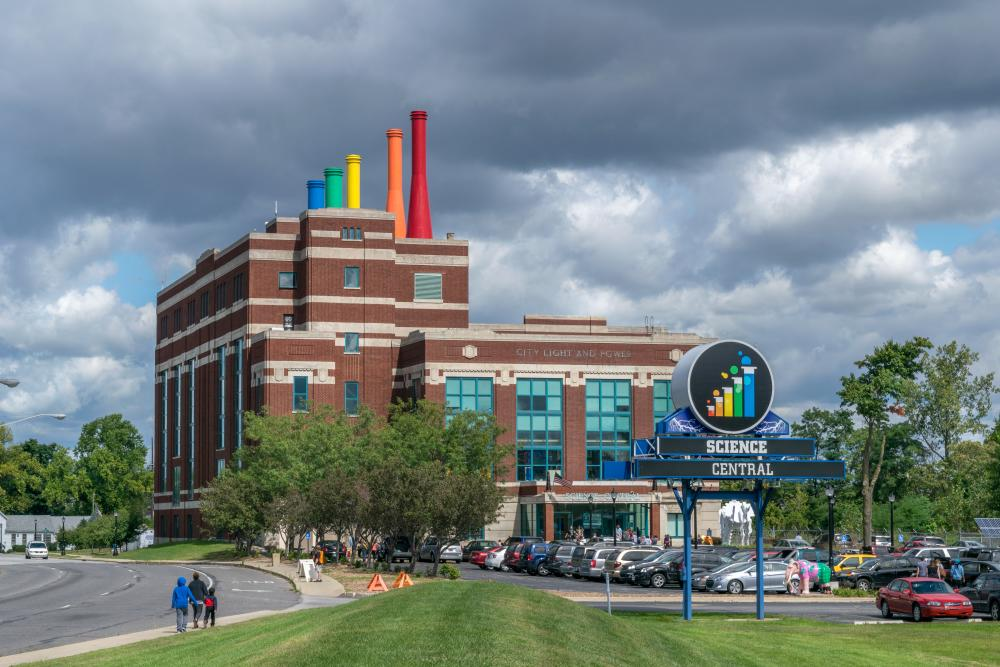 Science Central Exterior in Fort Wayne, Indiana