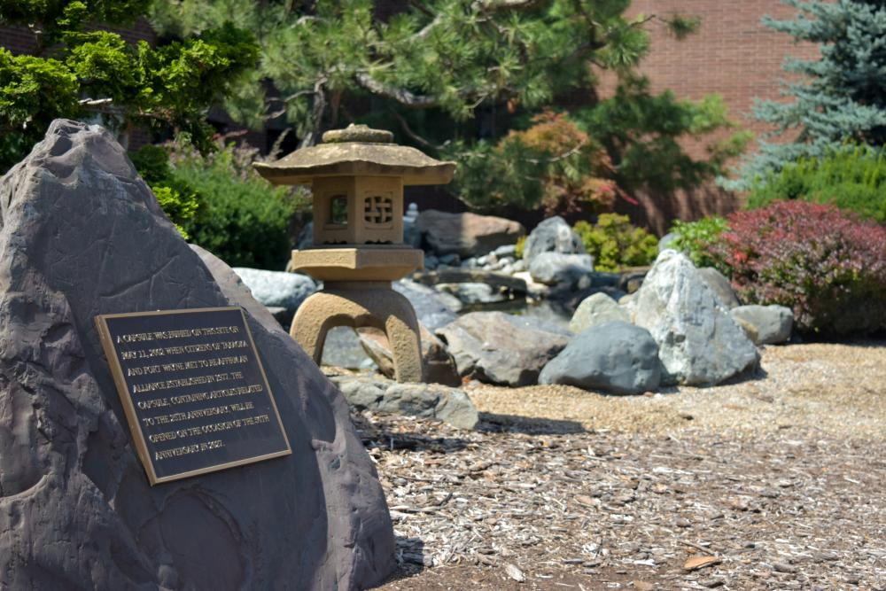 Japanese Friendship Garden in Fort Wayne, Indiana