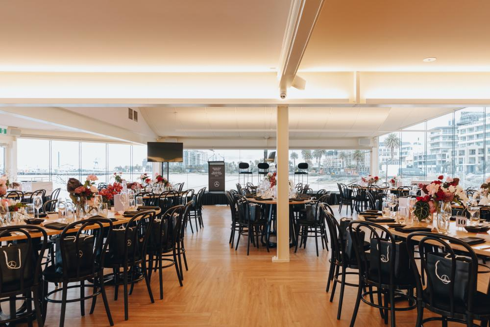Atlantic Group's venue Port Melbourne Yacht Club