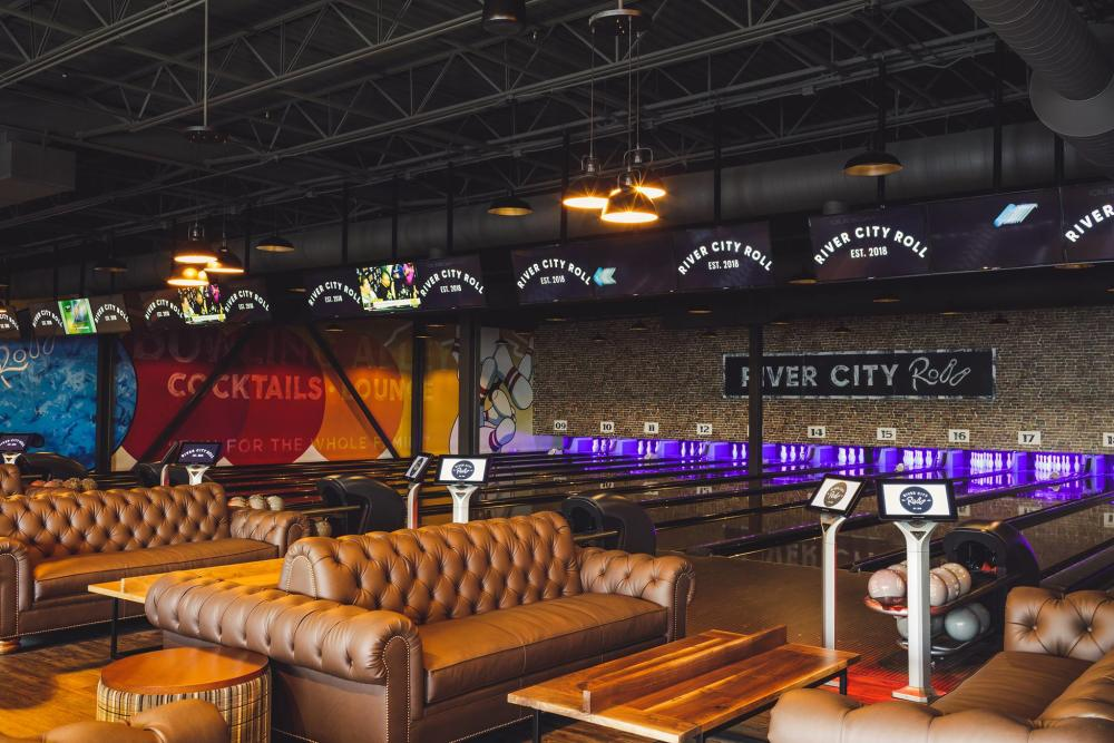 River City Roll bowling alley