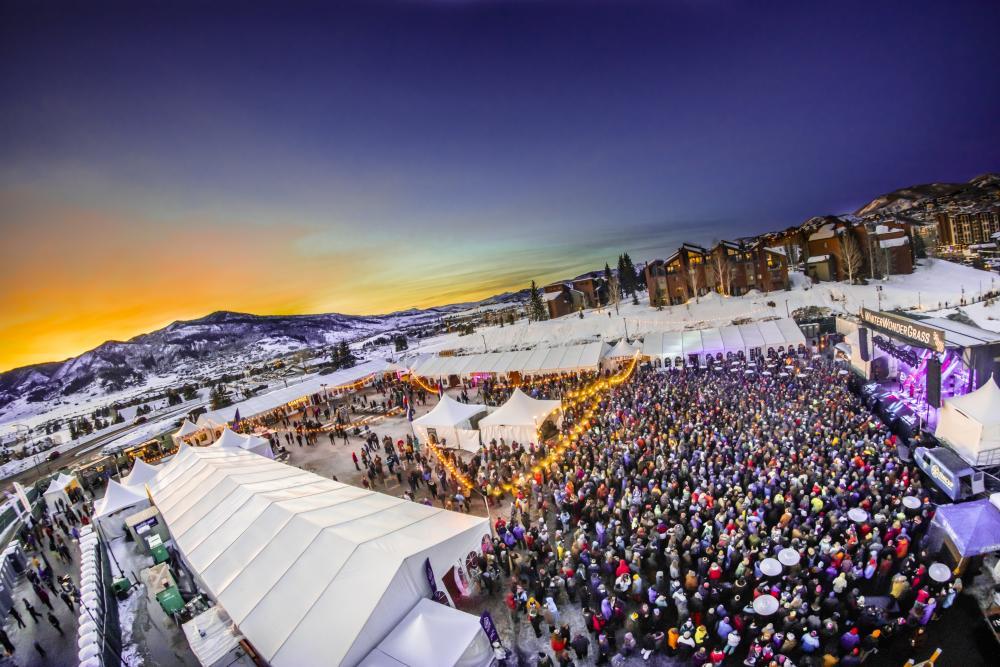 Winter Wonder Grass Festival, Steamboat Springs, Colorado