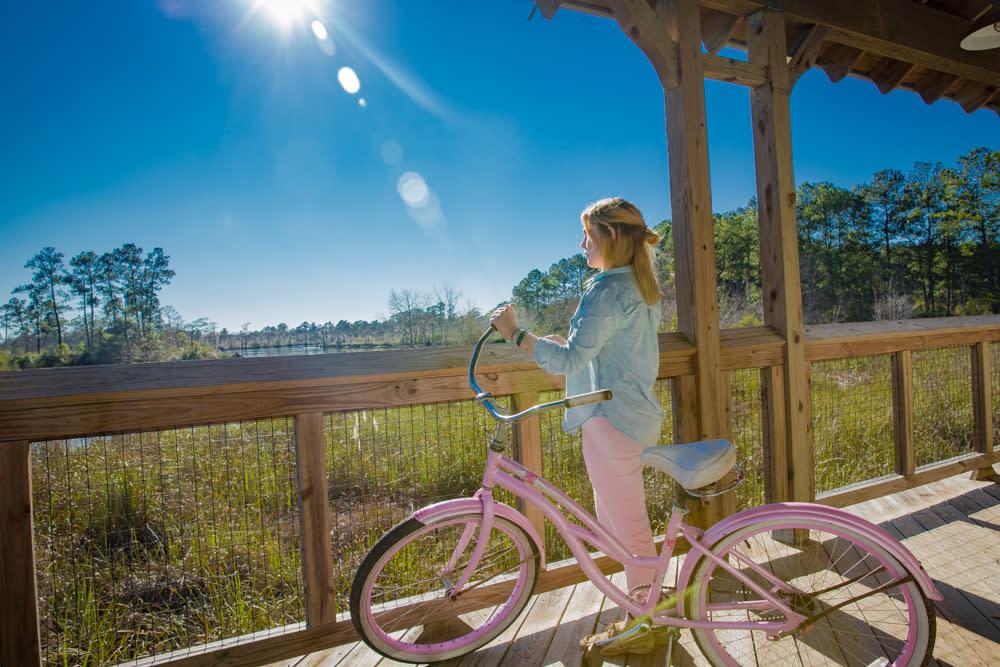 Anna, Tammany Tace, Bike, Lacombe