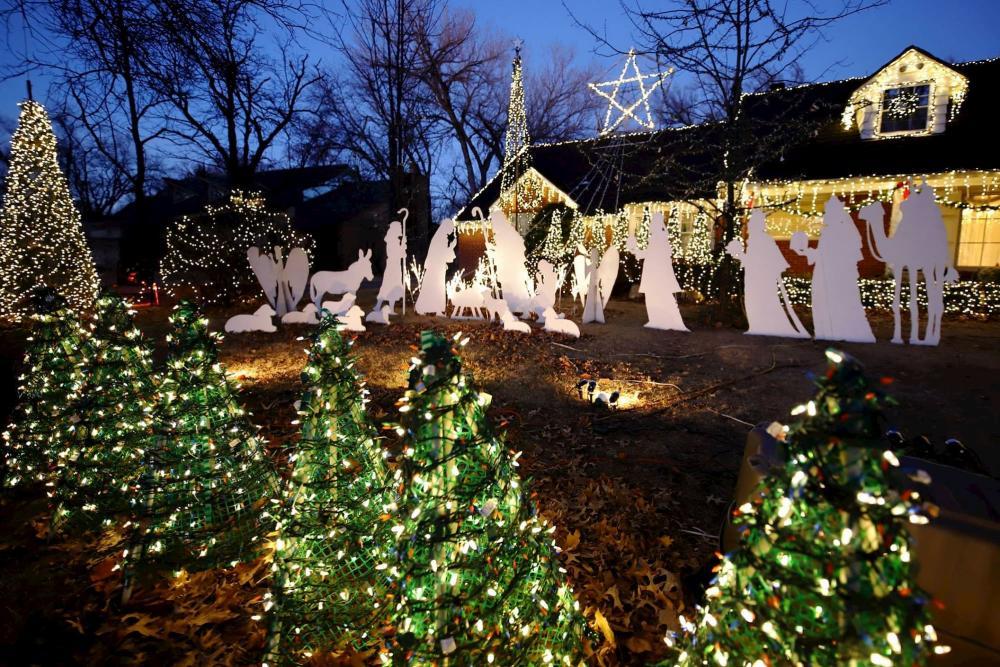 Marshall Family Christmas Lights