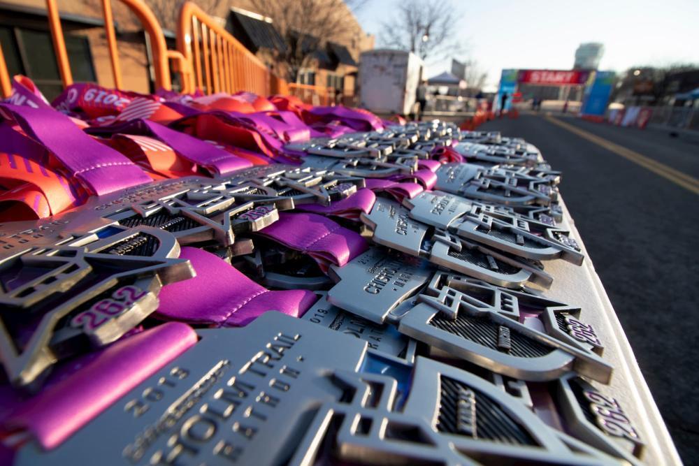 Chisholm Trail Marathon Medals