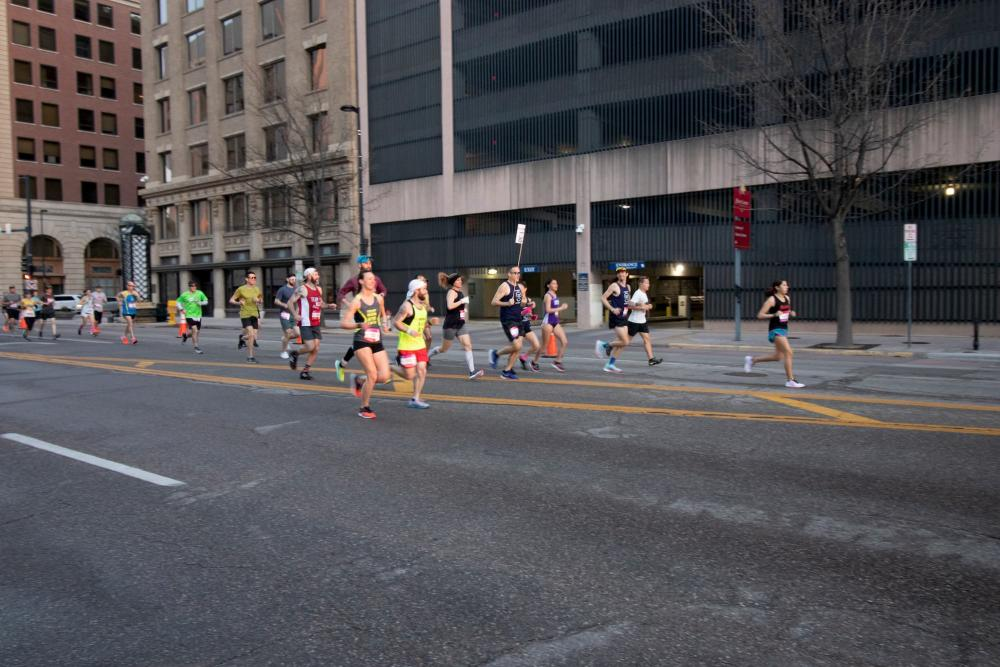 Racing Down Douglas for the Chisholm Trail Marathon
