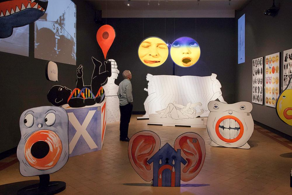 Emotions Go to Work Exhibit at Ulrich Museum of Art