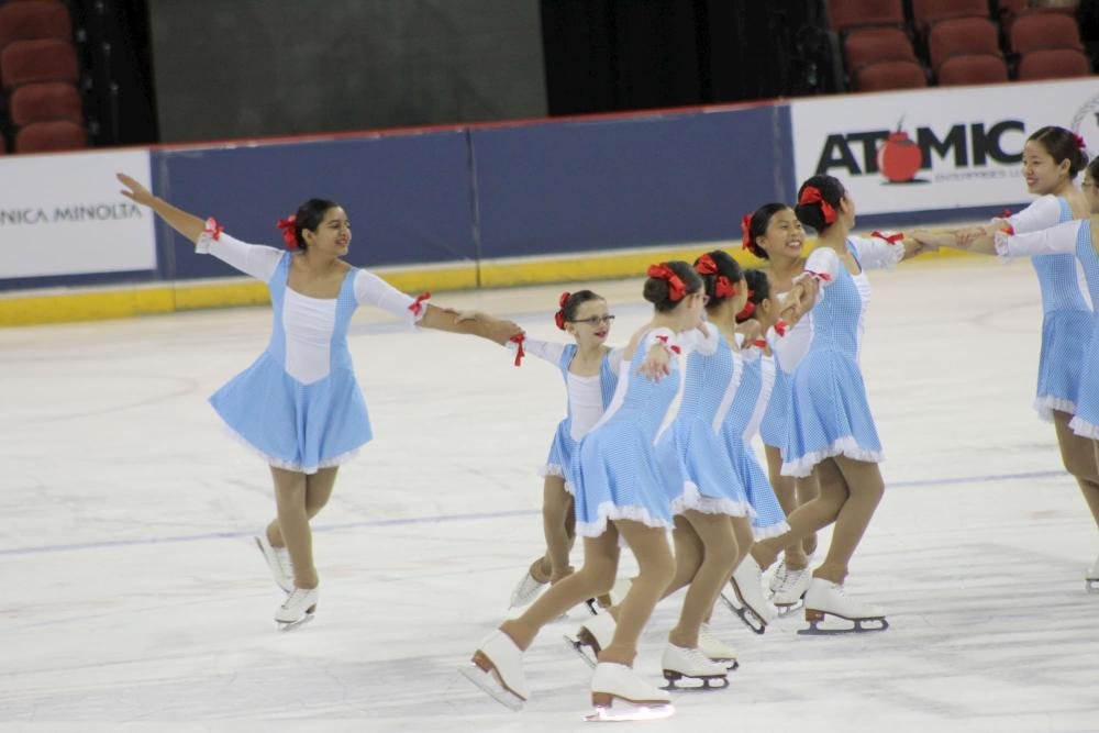 MidPac Skaters Perform at INTRUST Bank Arena