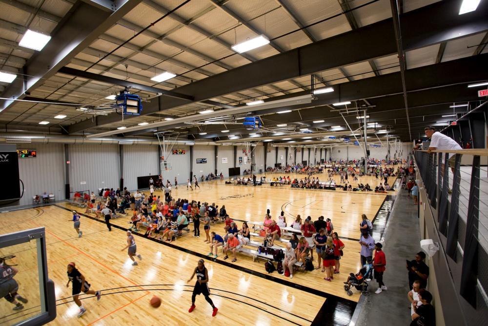 Basketball Tournament at Wichita Hoops