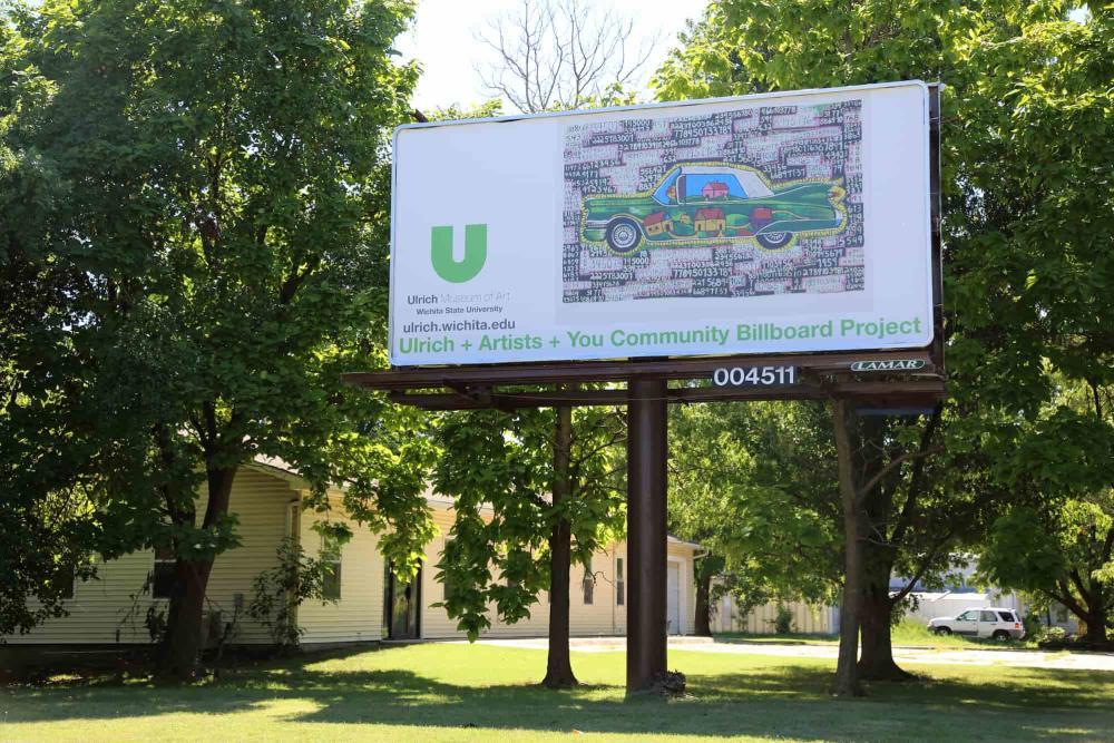 Ulrich Museum of Art Billboard